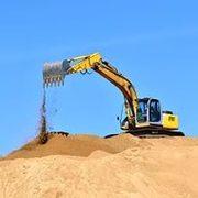 Доставка строительного песка.